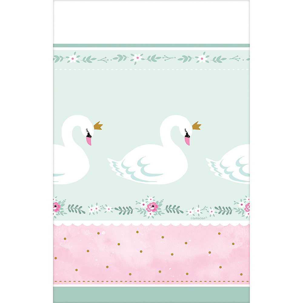 Sweet Swan Table Cover Image #2