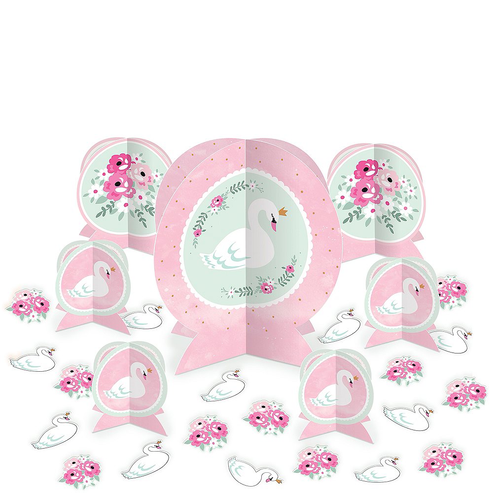 Nav Item for Sweet Swan Table Decorating Kit 27pc Image #1