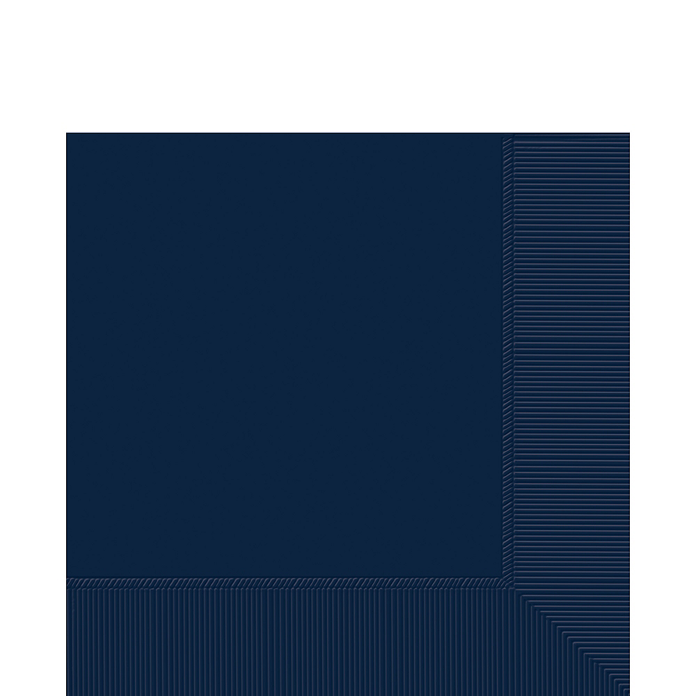 True Navy Blue Lunch Napkins 50ct Image #1