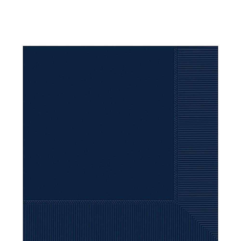 True Navy Blue Lunch Napkins 50ct Image #1