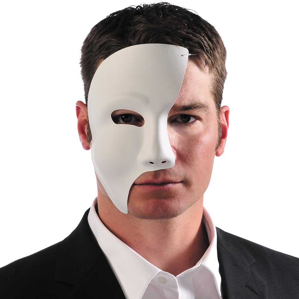 55f9baca5432f Phantom Mask 4 1/2in x 8 1/2in | Party City
