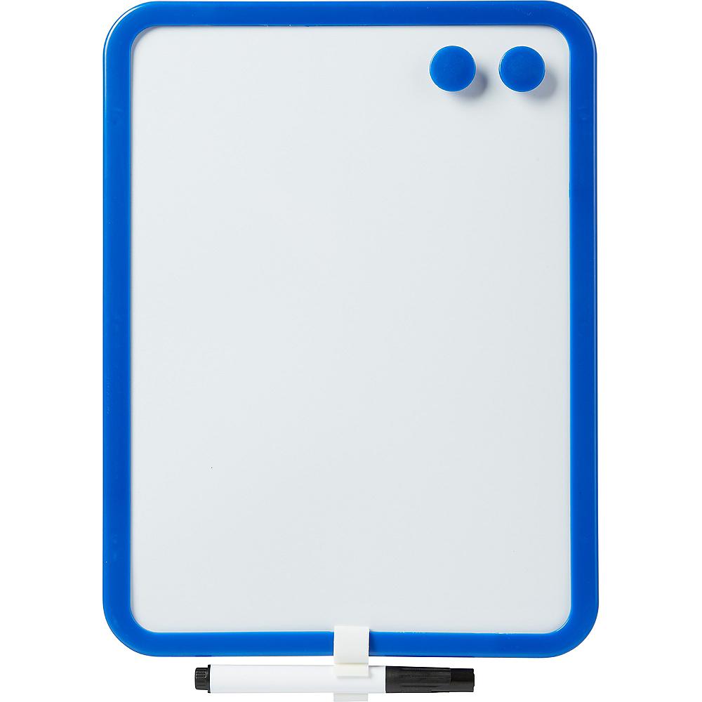 Blue Magnetic Dry Erase Board Image #1