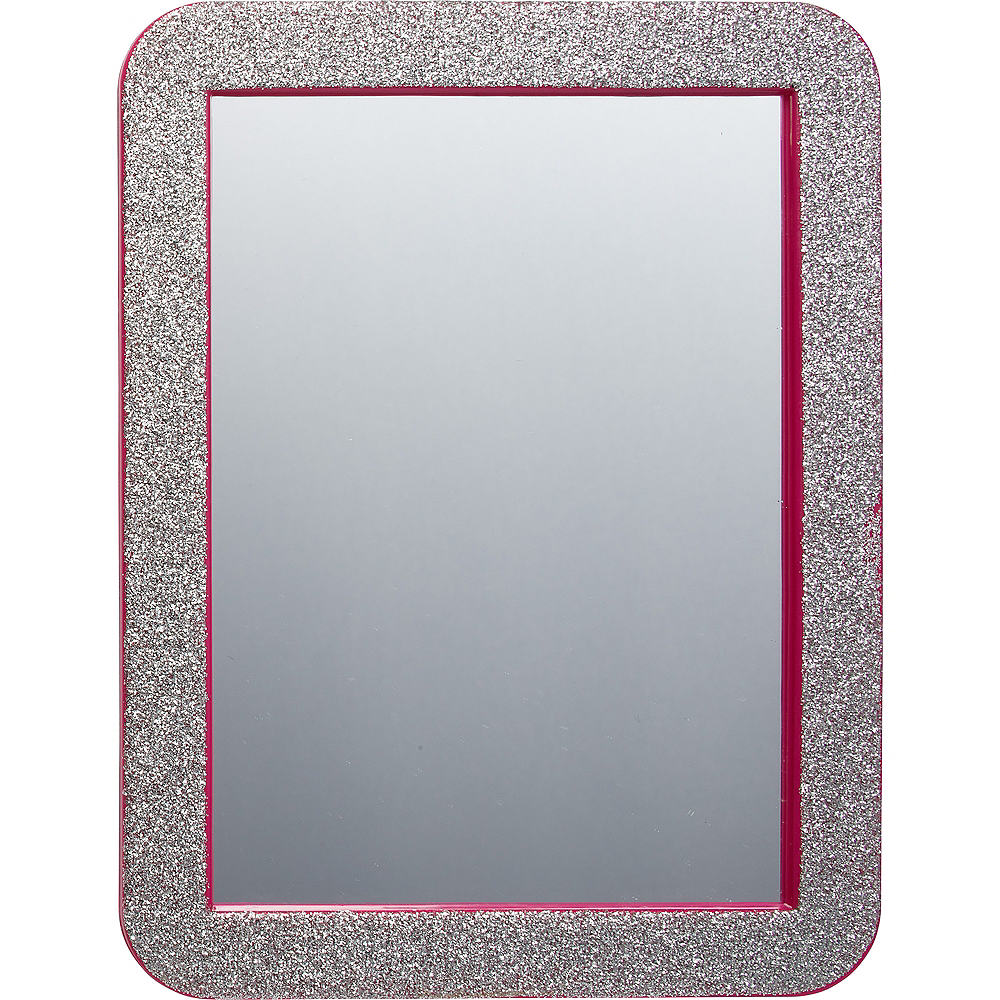 Glitter Pink Magnetic Mirror Image #1