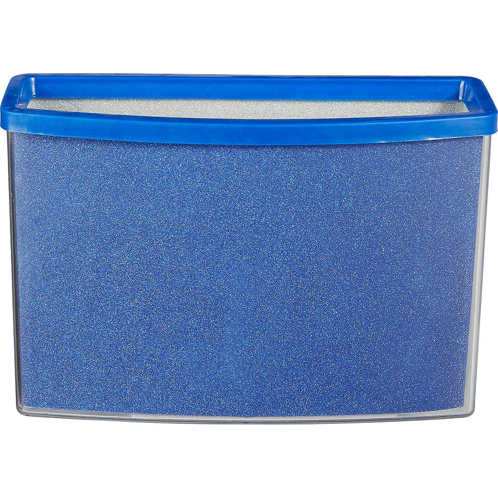 Glitter Blue Magnetic Locker Caddy Image #1