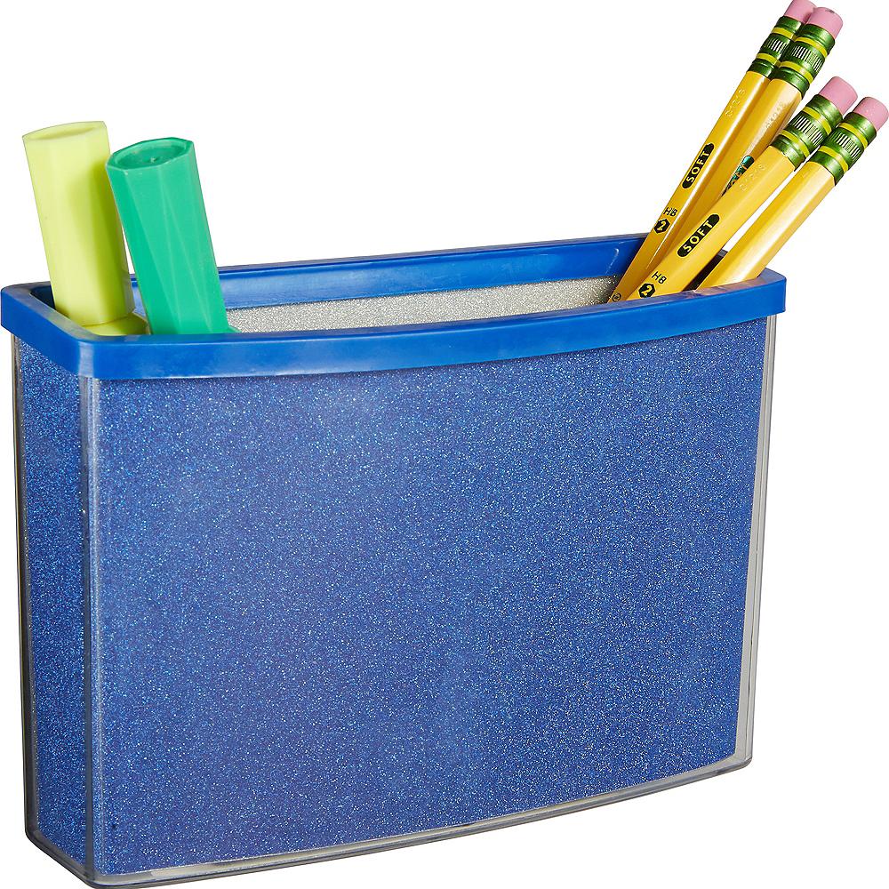 Glitter Blue Magnetic Locker Caddy Image #2