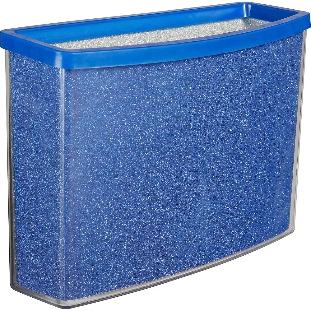 Glitter Blue Magnetic Locker Caddy Image #3