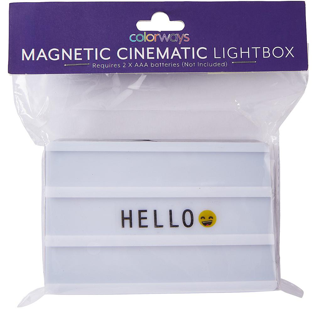 Mini Magnetic Marquee Light Box Image #3