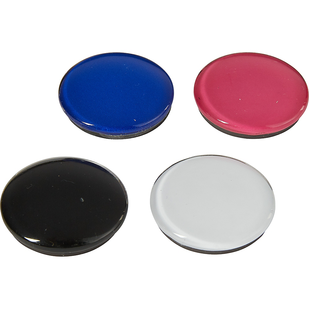 Multicolor Round Magnets 4ct Image #1