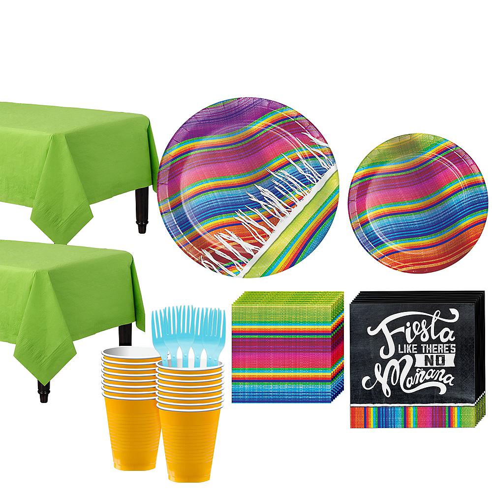 Serape Tableware Kit for 32 Guests Image #1