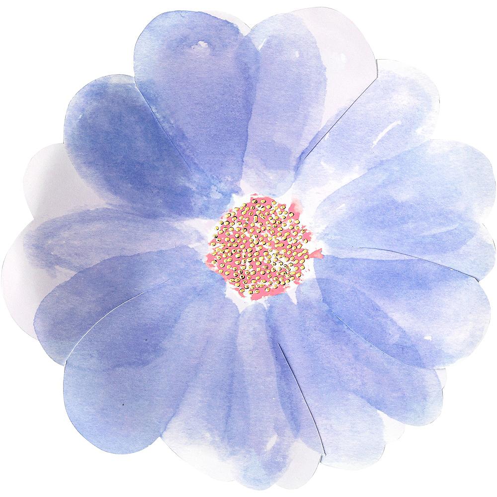 Shaped Flower Dessert Plates 8ct Image #3
