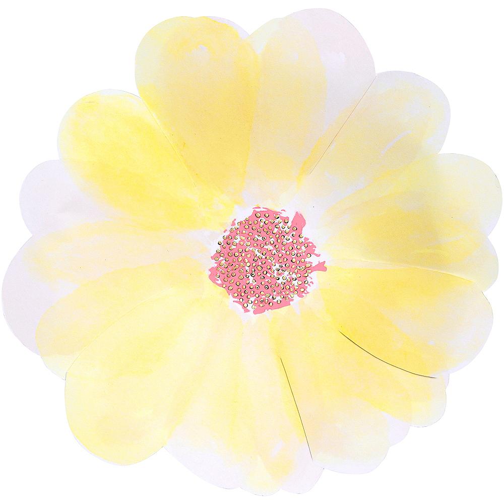 Shaped Flower Dessert Plates 8ct Image #4