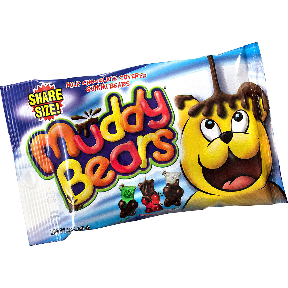 Muddy Bears Pouches 6ct Image #1
