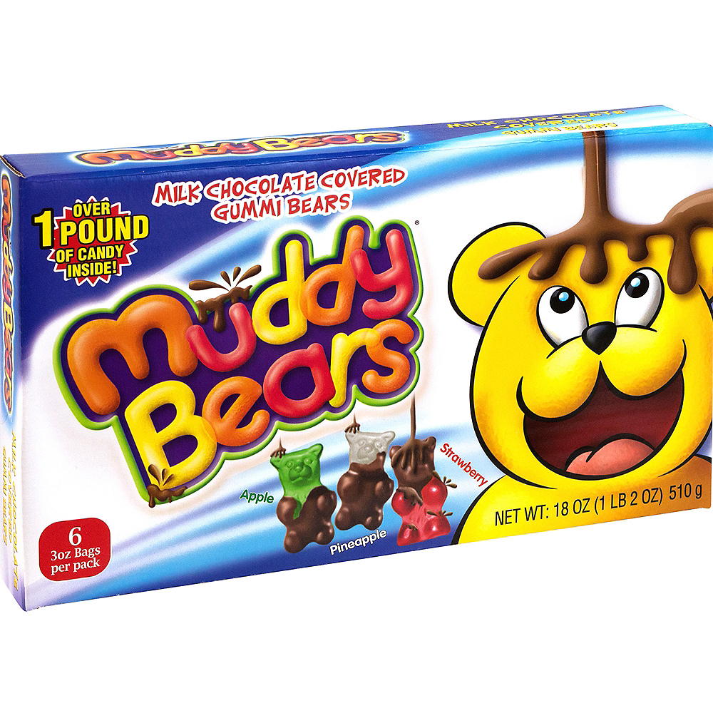 Muddy Bears Pouches 6ct Image #2
