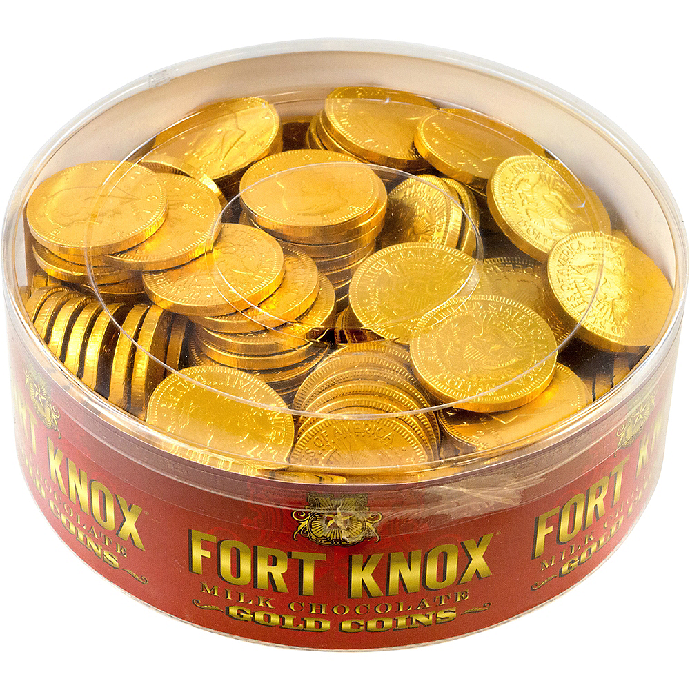 Fort Knox Gold Chocolate US Dollar Coins 180pc Image #1