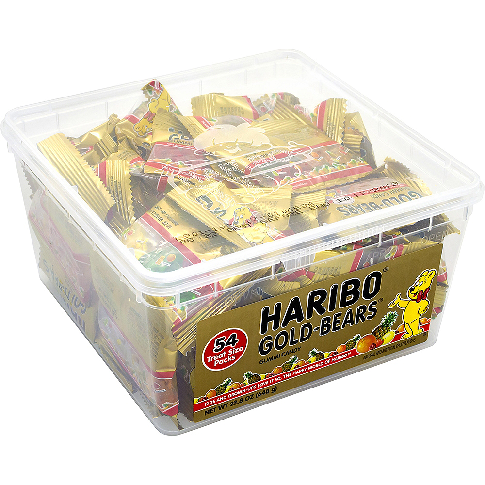 Haribo Gold Bears Pouches 54ct Image #1