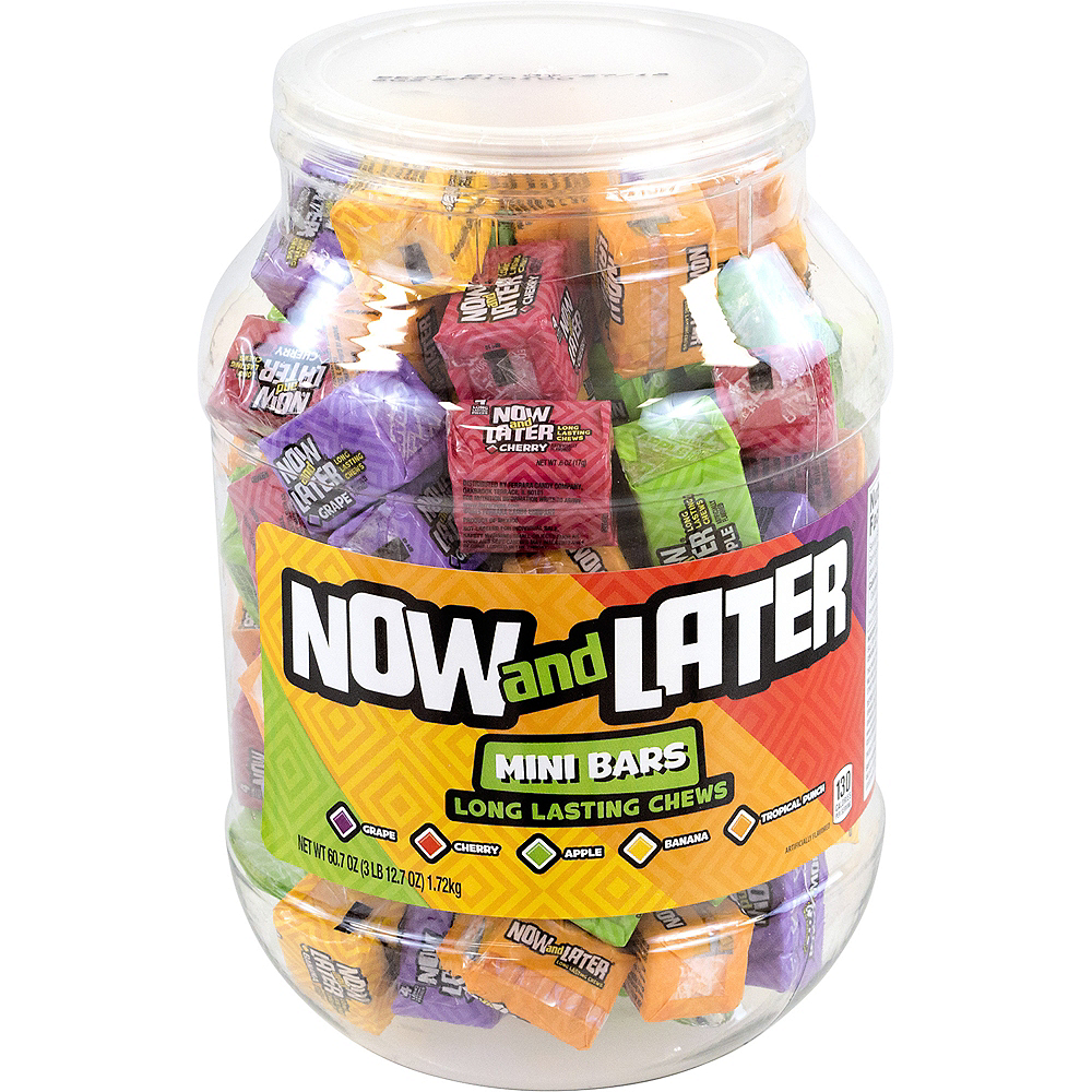 Now and Later Mini Bars 3.75lb Image #1