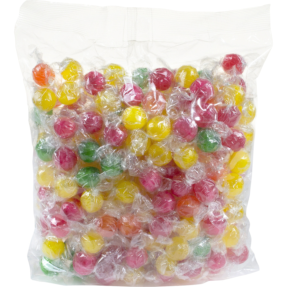 Sour Fruit Balls Hard Candy 5lb Image #1