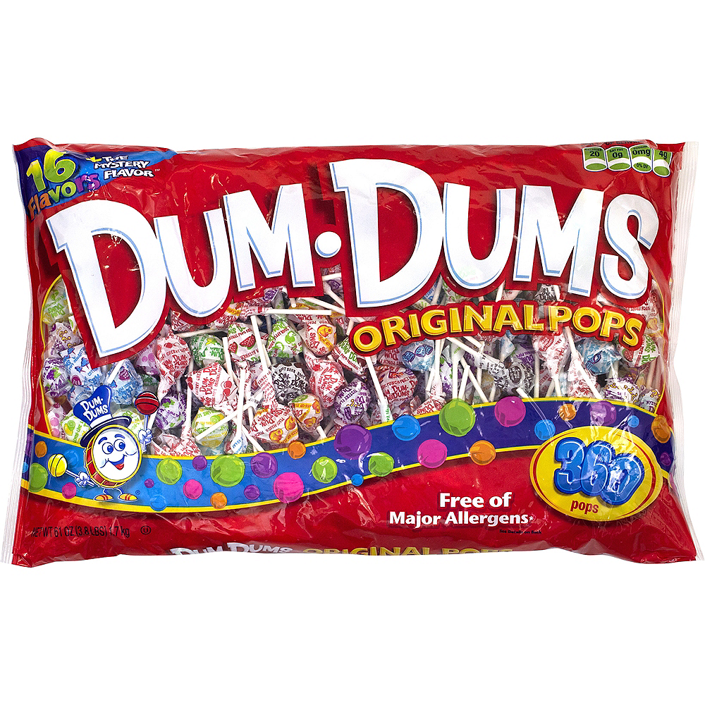 Nav Item for Dum Dums Pops 360ct Image #1