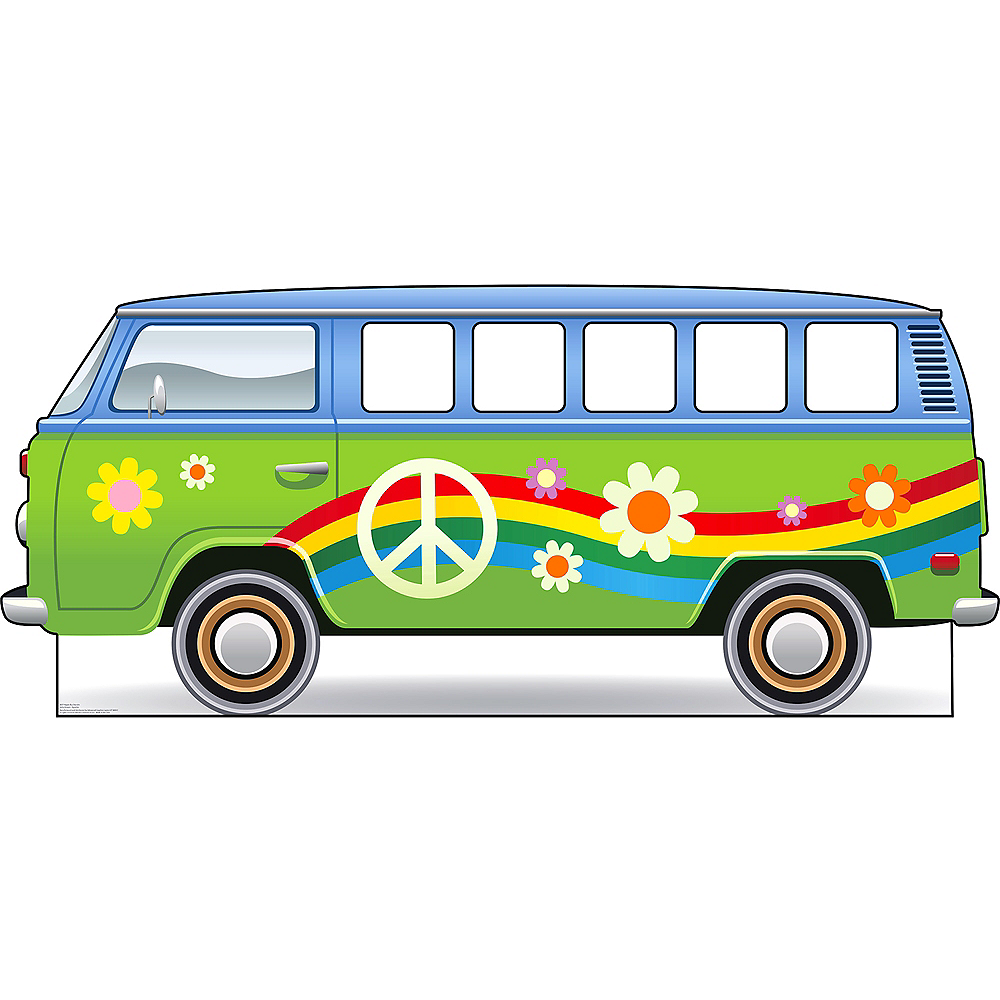 Hippie Bus Photo Standee Image #1