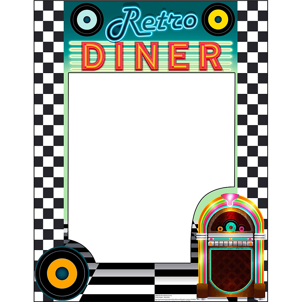Giant Retro Diner Photo Frame Image #1