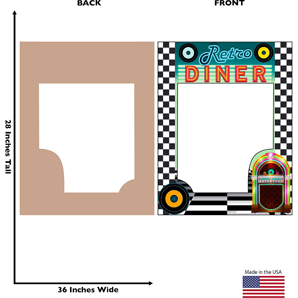 Giant Retro Diner Photo Frame Image #2