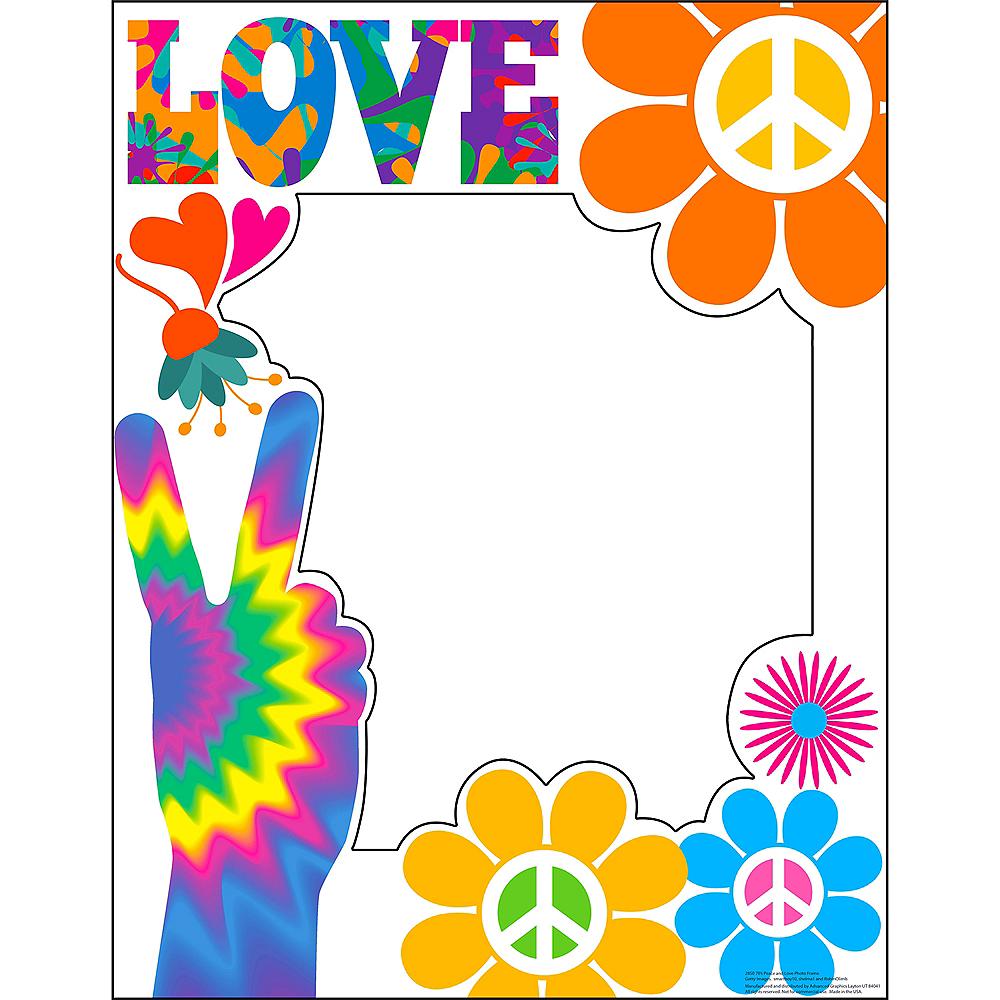 70s Peace & Love Photo Frame
