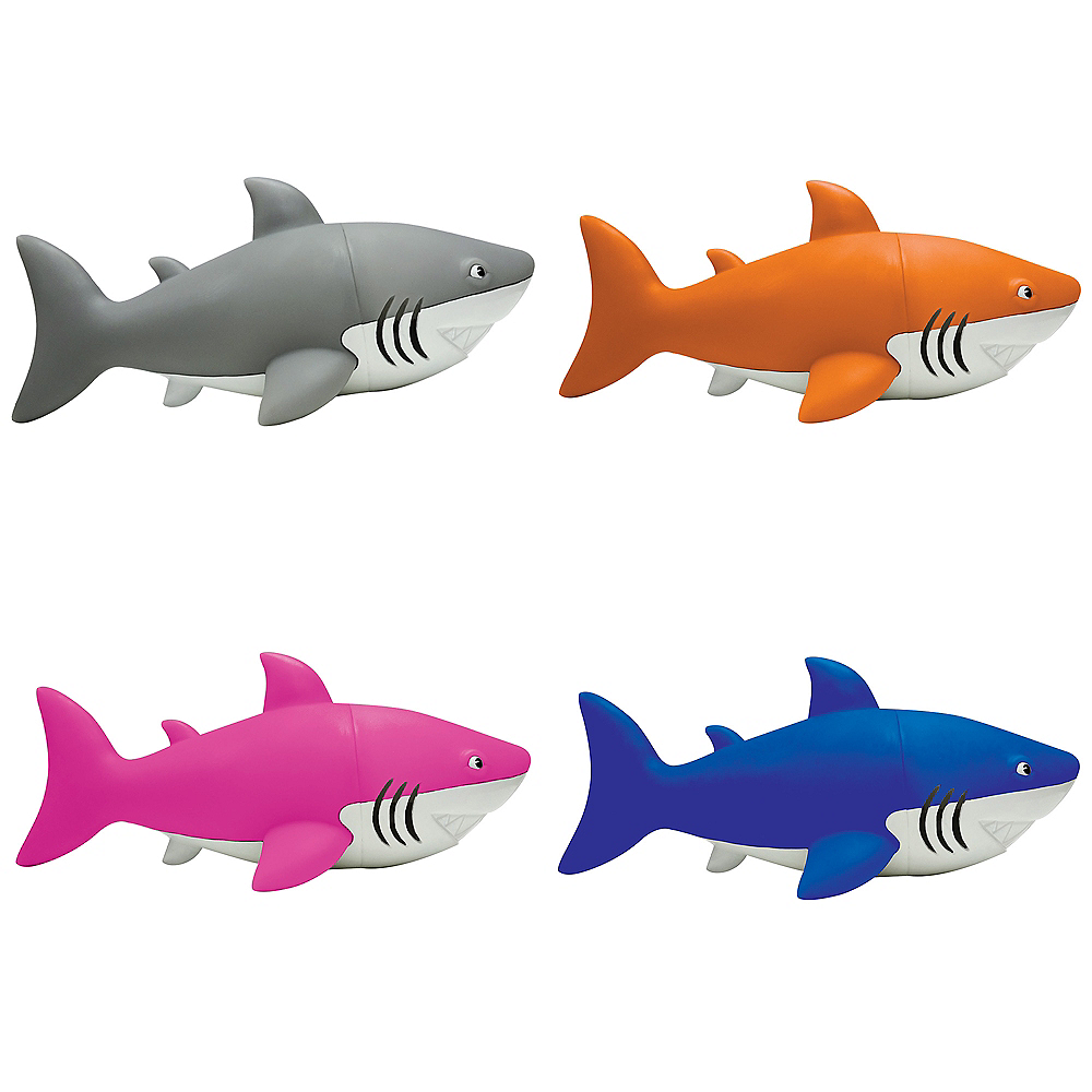 Gray Squeeze Me Shark Image #1