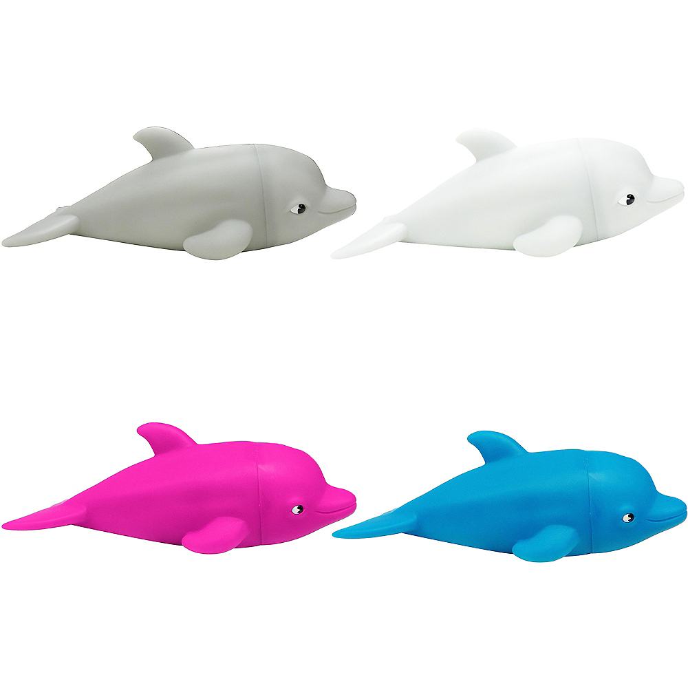 Pink Squeeze Me Dolphin Image #1