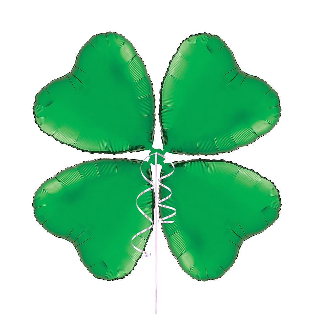 Green Heart Balloon Kit Image #1
