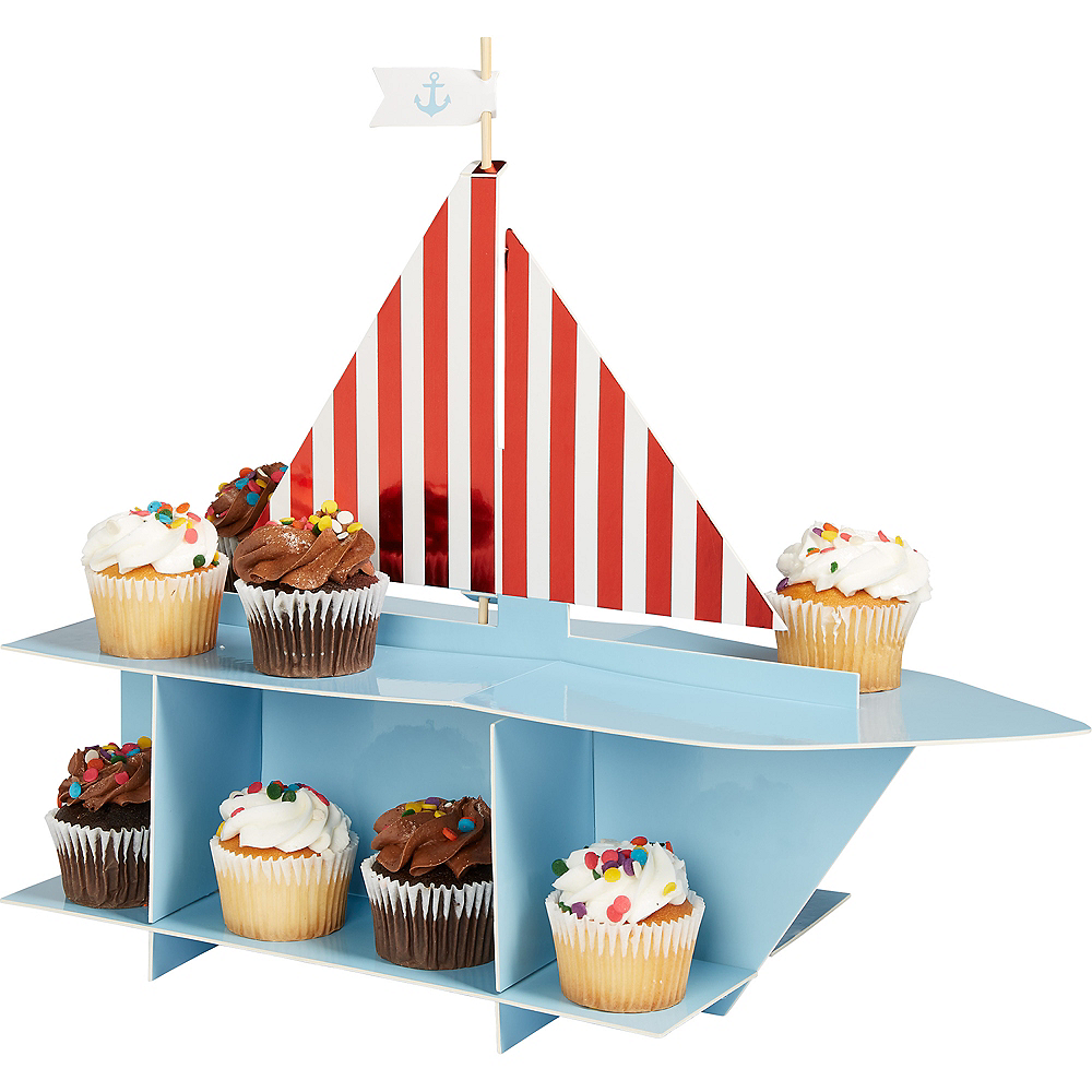Ginger Ray Nautical Cupcake Stand Image #1