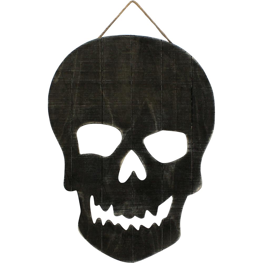 Black Skull Sign Image #1