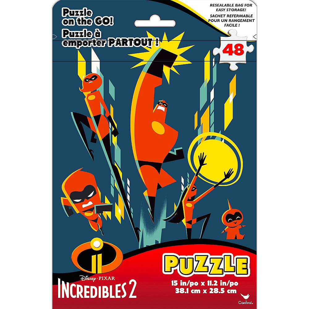 Incredibles 2 Puzzle Bag 48pc Image #1
