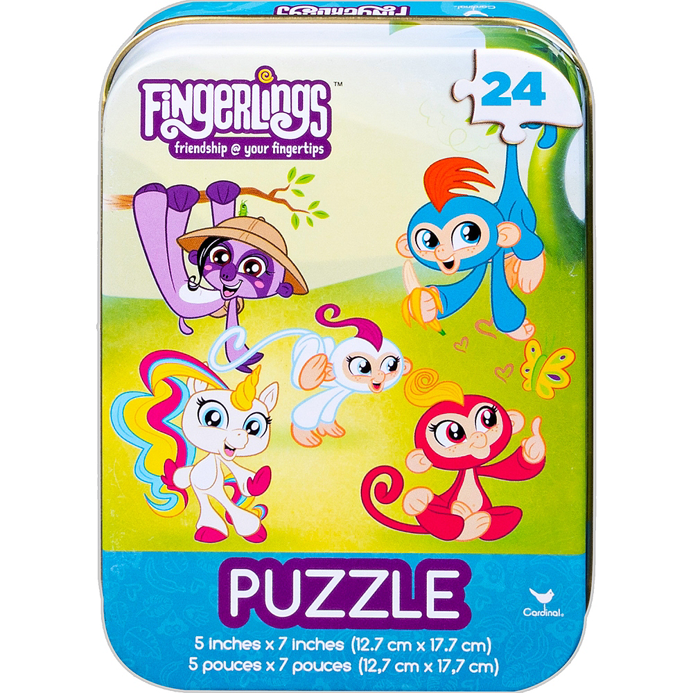 Fingerlings Puzzle Tin 24pc Image #1