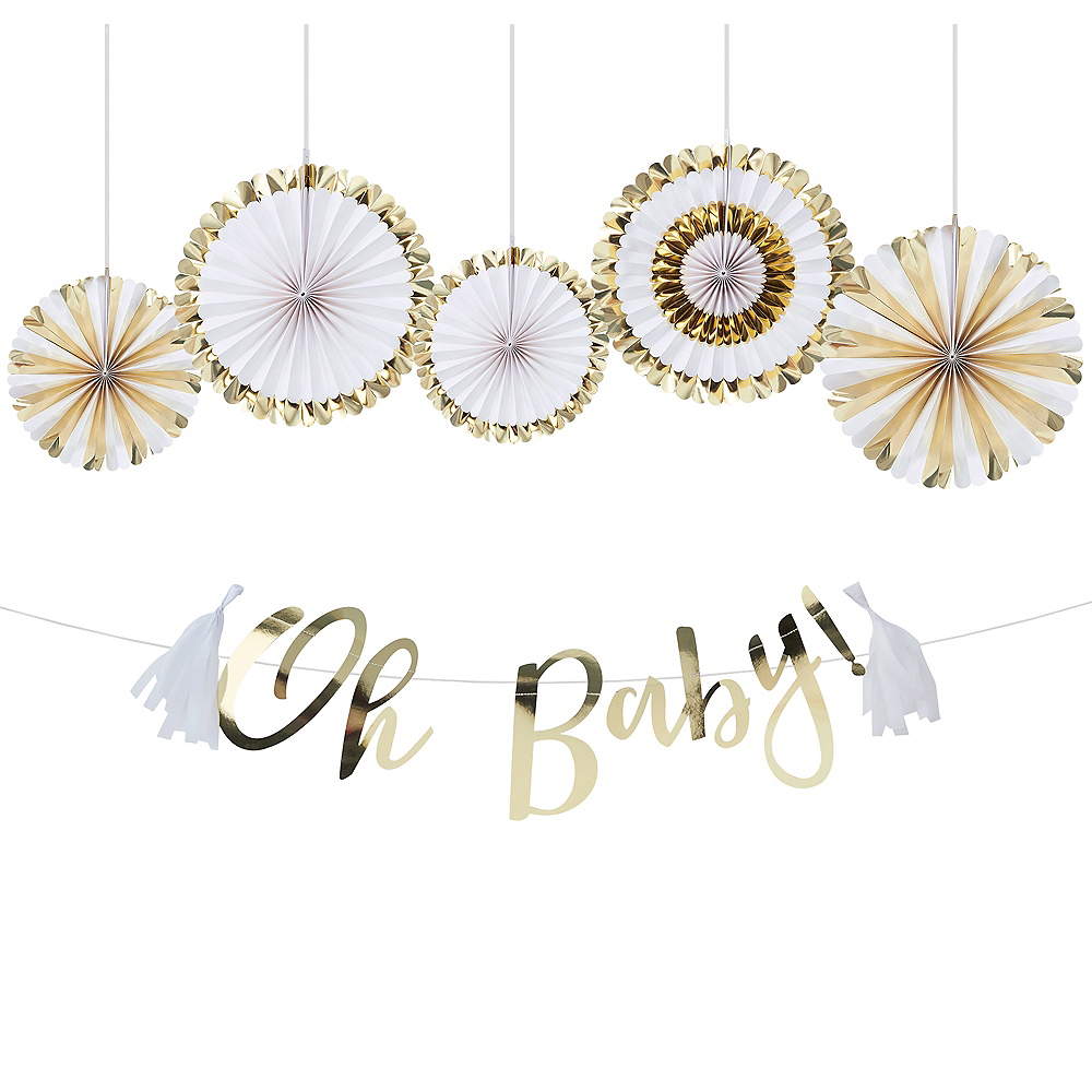 Oh Baby Baby Shower Decorating Kit Image #1