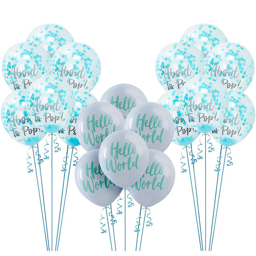 Hello World Baby Shower Balloon Kit Image #1