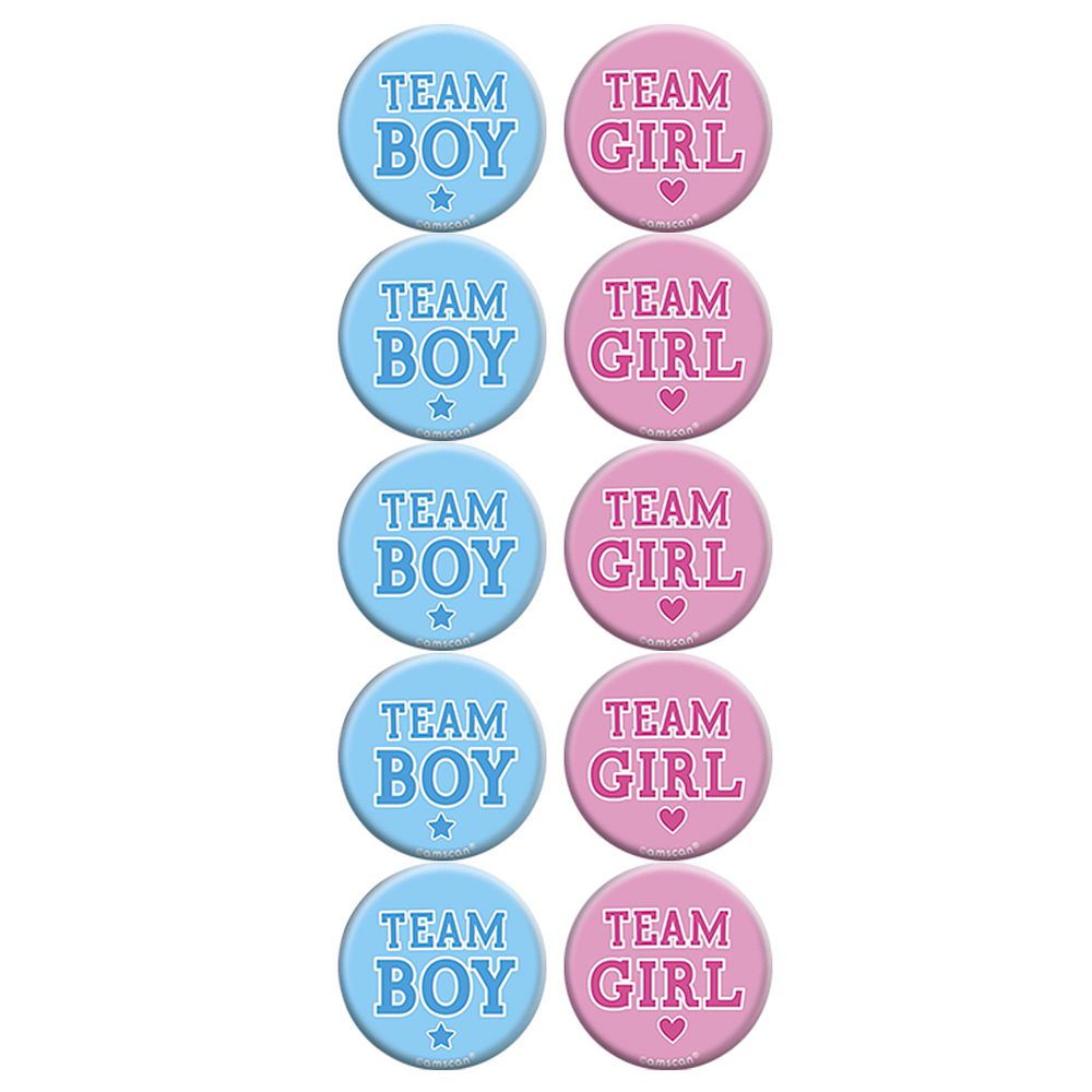 Girl or Boy Gender Reveal Party Activity Kit Image #7