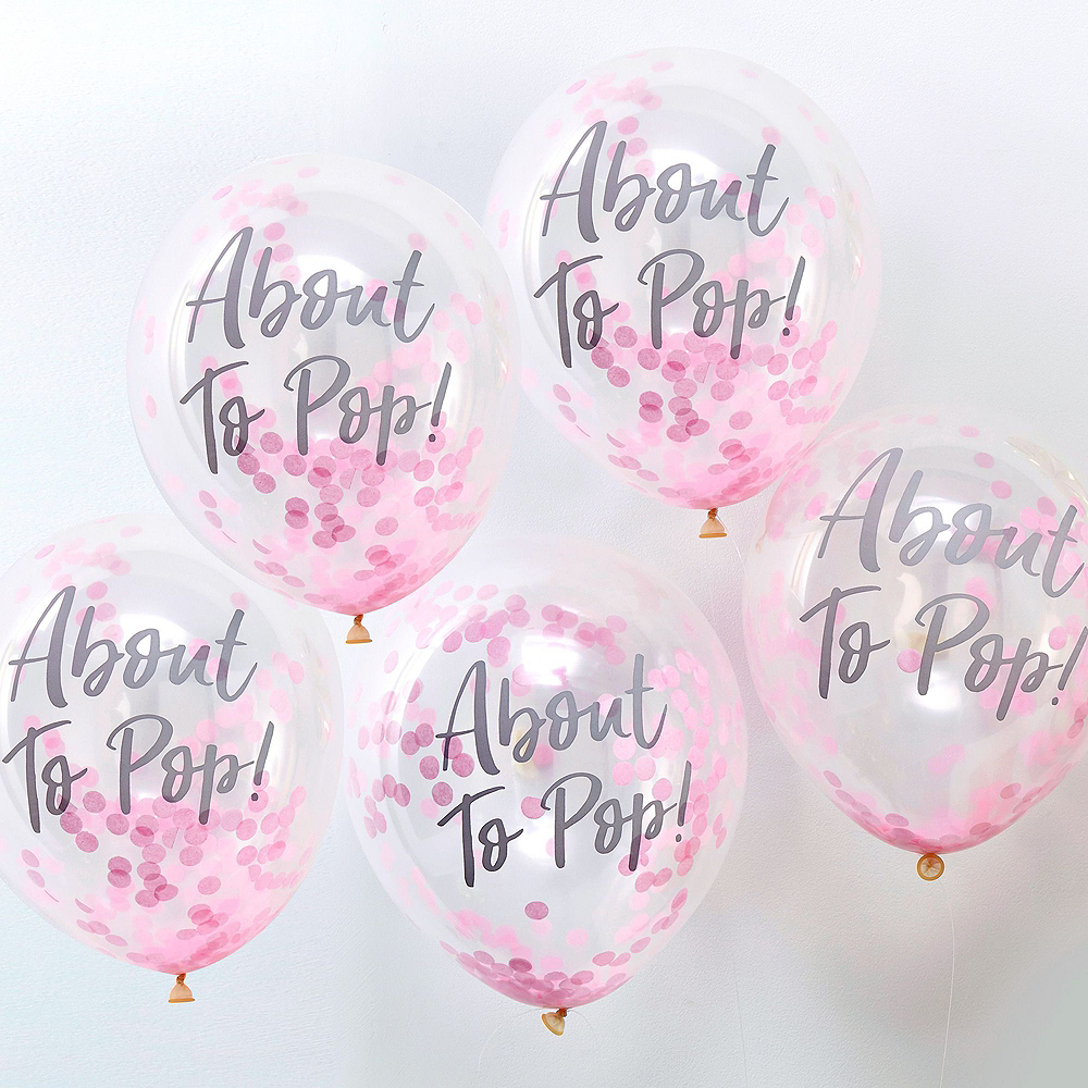 About to Pop Gender Reveal Party Balloon Kit Image #2