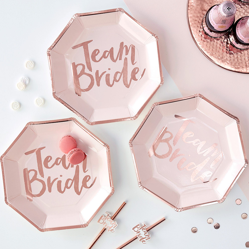 Ultimate Team Bride Bridal Shower Party Kit for 32 Guests Image #5
