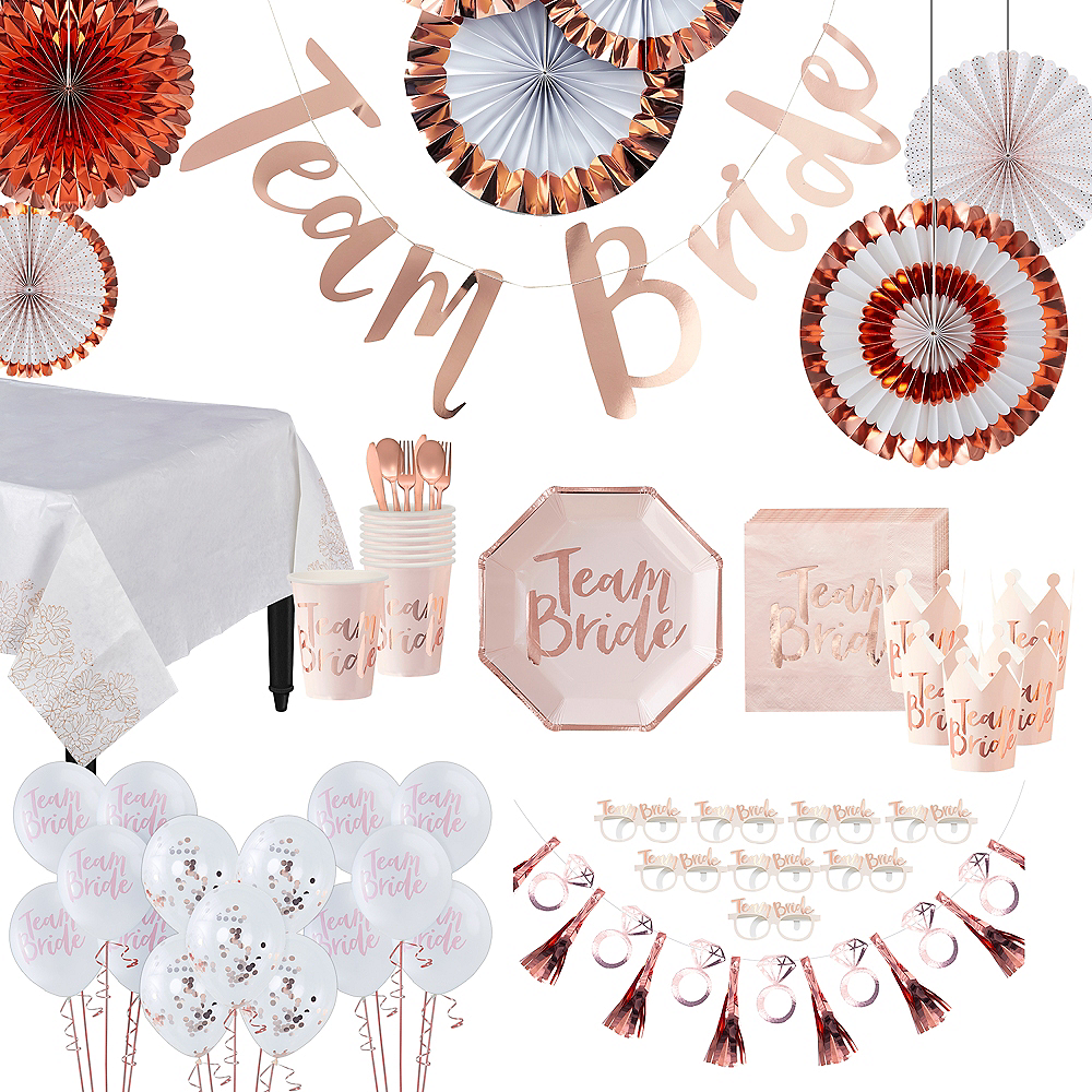 Super Team Bride Bridal Party Kit for 32 Guests Image #1