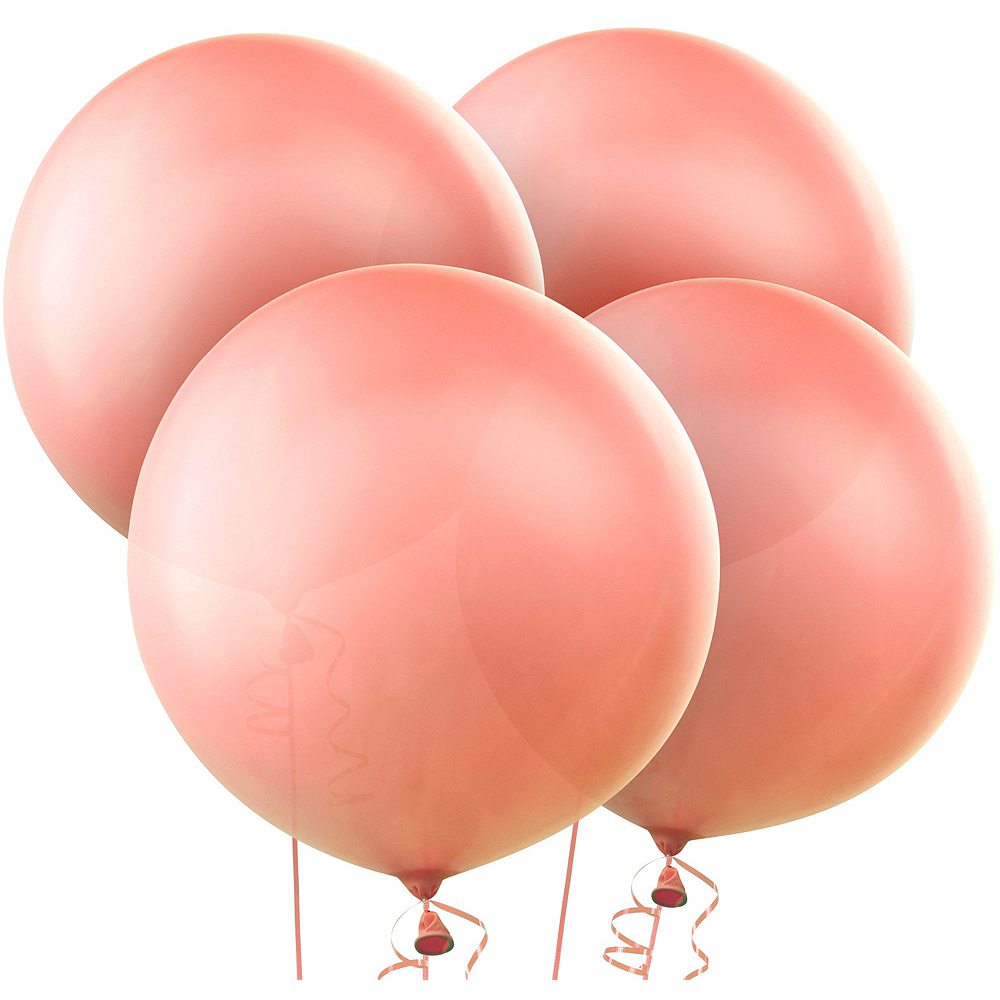 Nav Item for Rose Gold Bridal Shower Balloon Kit Image #3