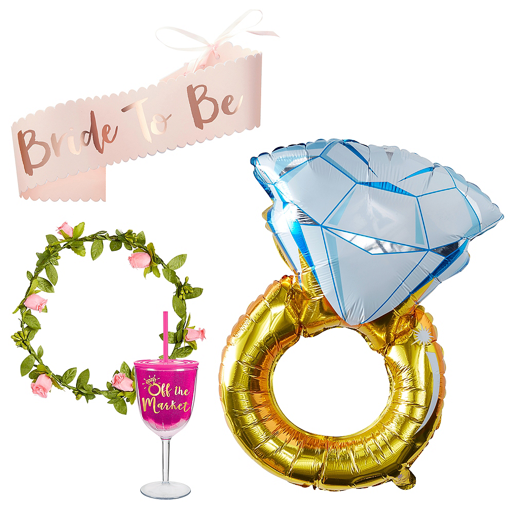 Dress the Bride Bridal Shower Wearables Kit Image #1