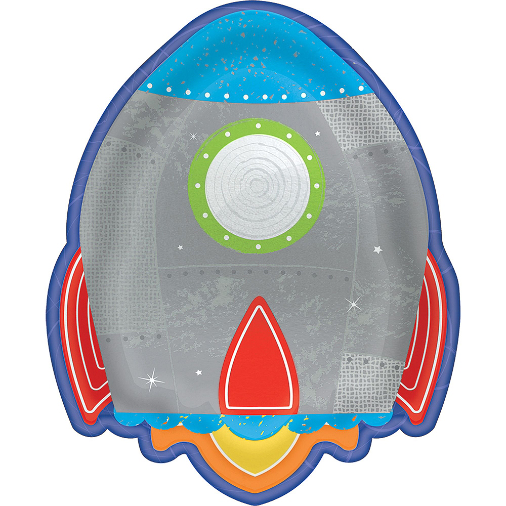 Blast Off 3rd Birthday Party Kit for 16 Guests Image #2
