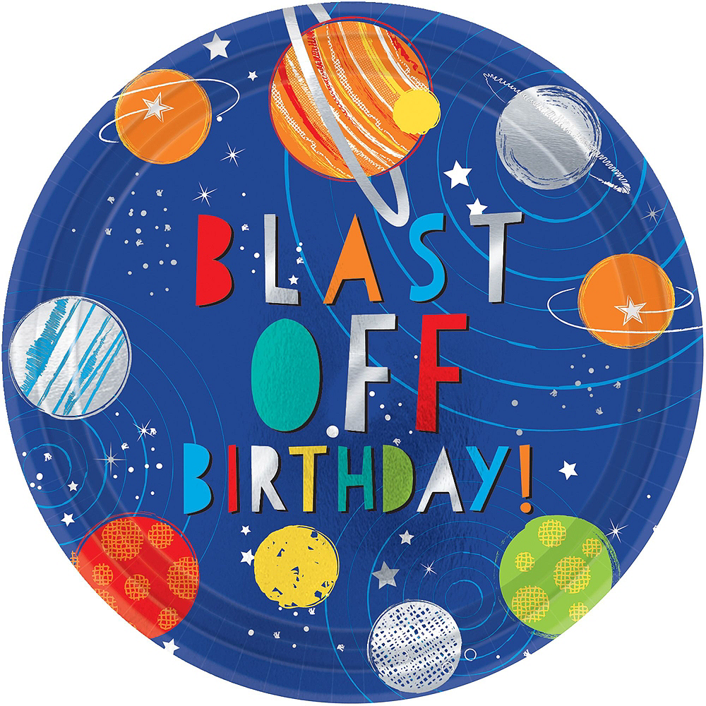 Blast Off 3rd Birthday Party Kit for 16 Guests Image #3