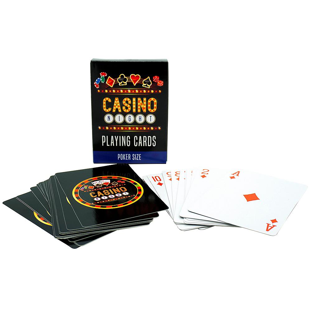 Casino Night Playing Cards 52ct Image #1