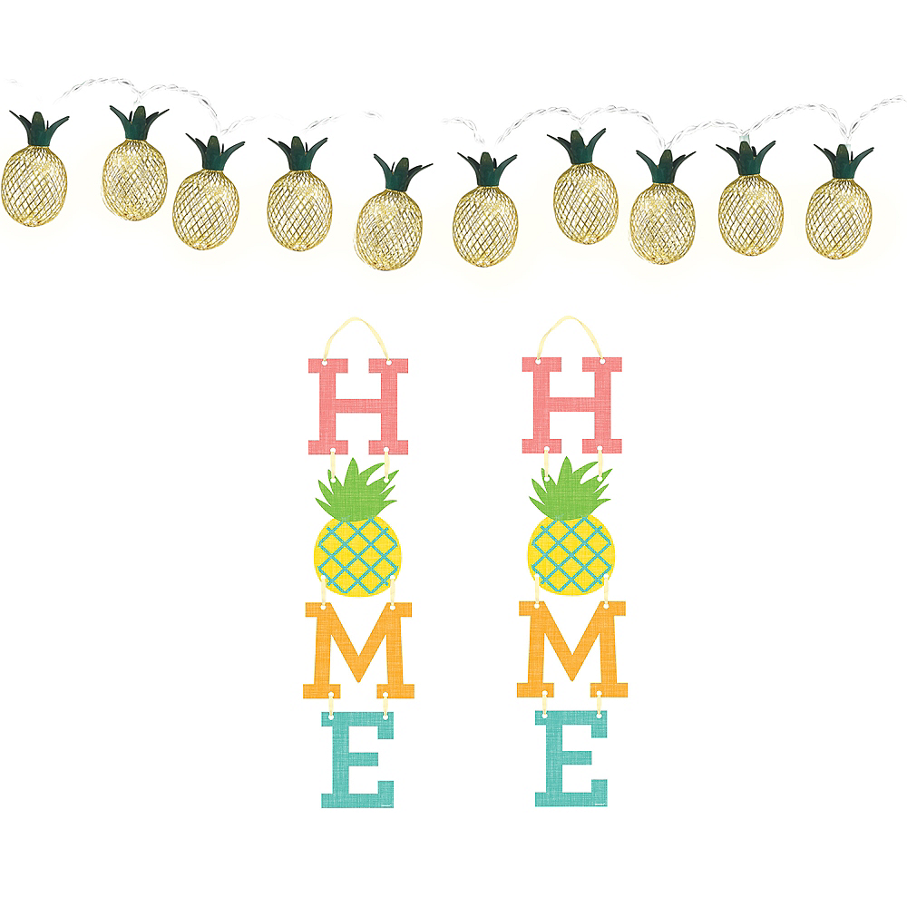 Pineapple Home Decorating Kit Image #1