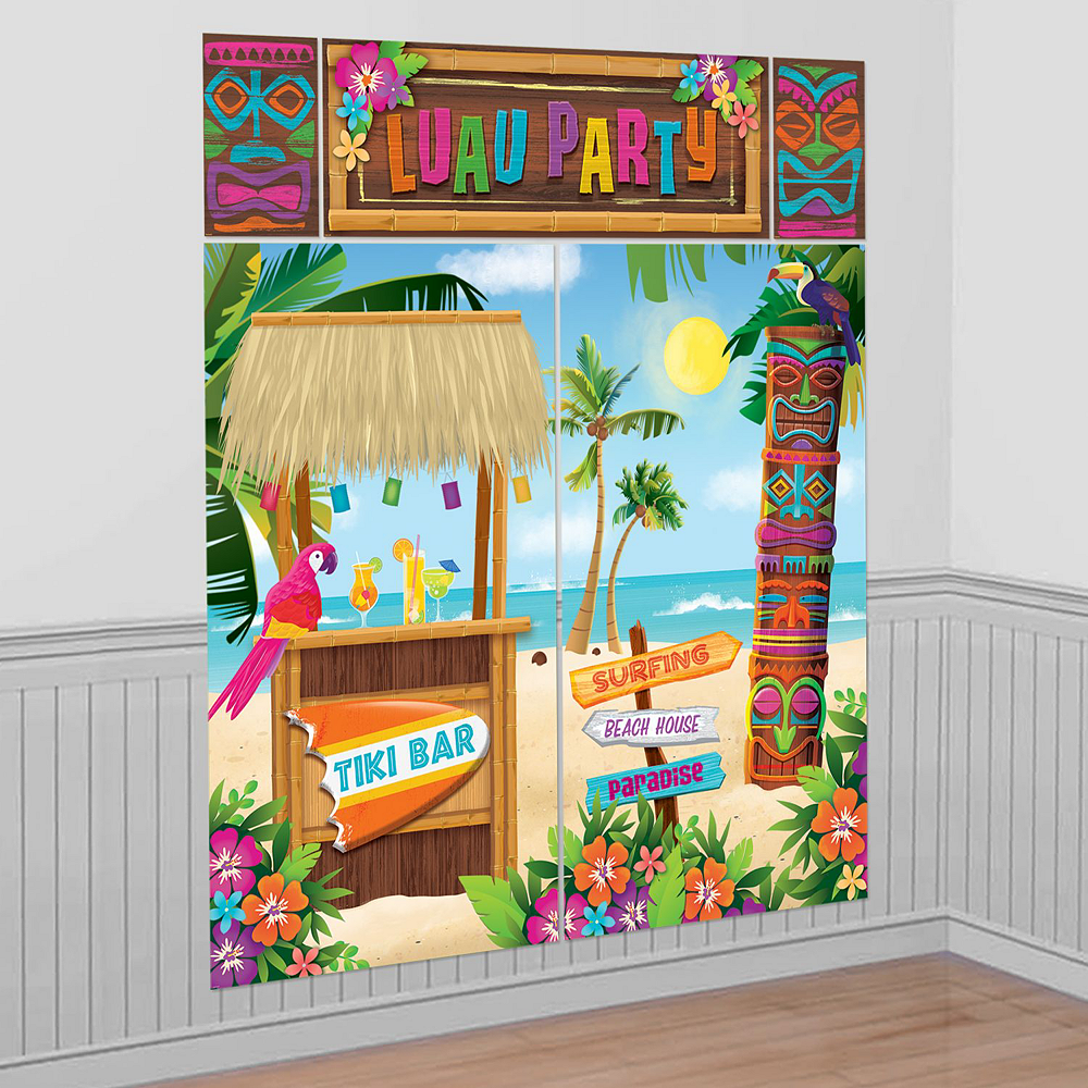 Luau Party Photo Booth Kit Image #2