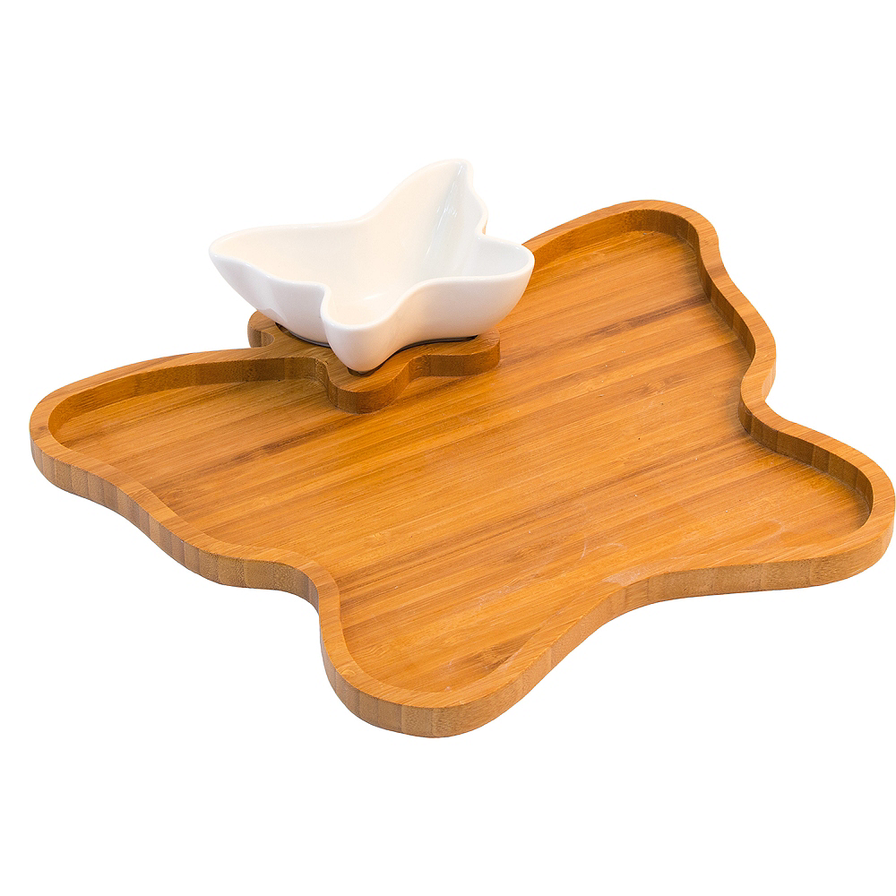 Butterfly Tray & Bowl Set 2pc Image #1