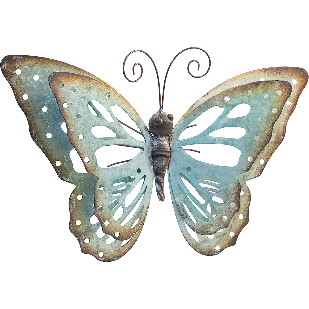 Blue Butterfly Wall Decoration Image #1