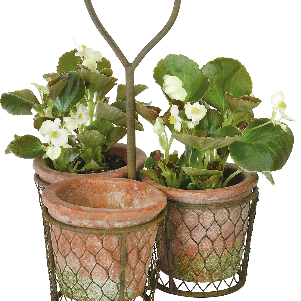 Flower Pot Carrier Set 4pc Image #1