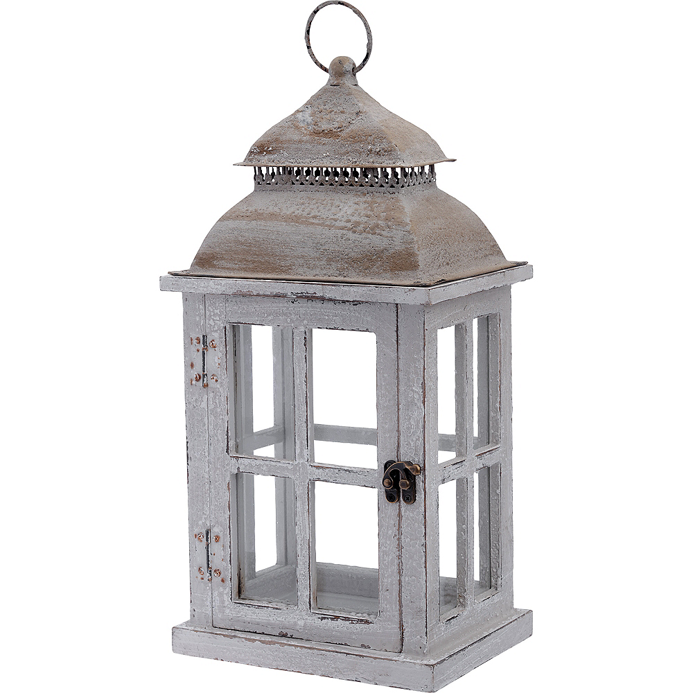 Rustic Lantern 8in X 16in Party City